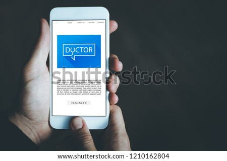 DOCTOR CONCEPT ON SCREEN #1210162804