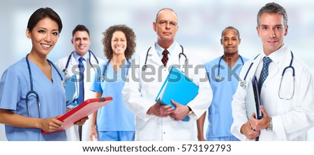 Doctor nurse group