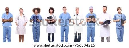 Doctor nurse hospital people