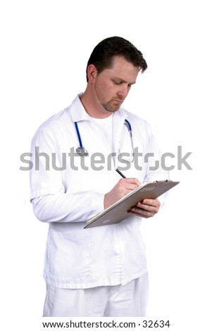 Doctor / Nurse Writing