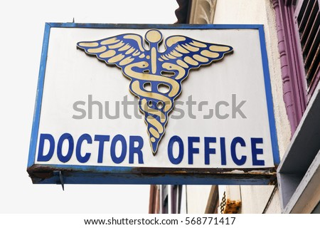 doctor office sign and logo...