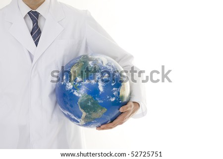 Doctor who has globe
