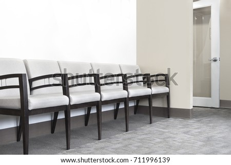 doctors office waiting and seating area #711996139