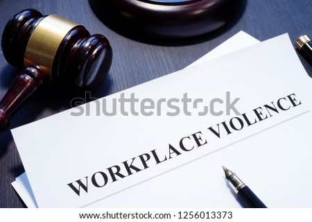 Document about Workplace Violence in a court. #1256013373