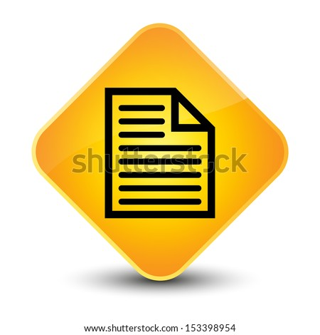 Document page icon yellow button