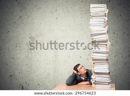 Document, Stack, Paperwork.
