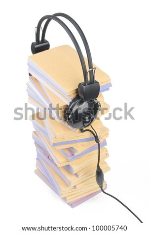 Documents and headphone