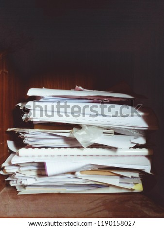 documents Old documents Unused documents #1190158027