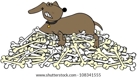 [Image: stock-photo-dog-protecting-a-pile-of-bon...341555.jpg]