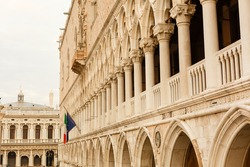 Doge's Palace in Venice (Italy).