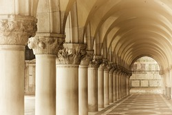 Doge's Palace on San Marco square, Venice, Italy