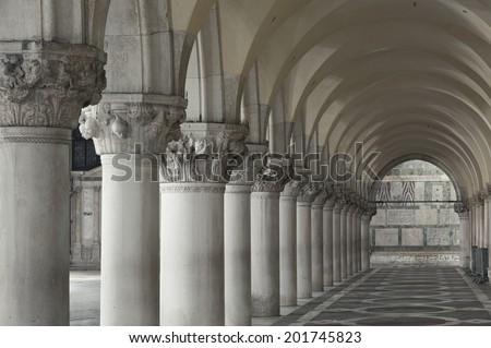 Doge's Palace, Saint Marks Square, Venice, Italy  #201745823