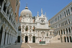 doges palace, venice, italy, europe