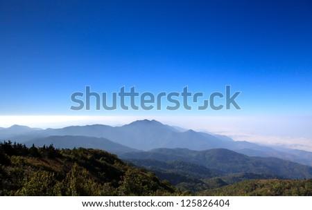 Doi Inthanon national park, ChiangMai, Thailand #125826404