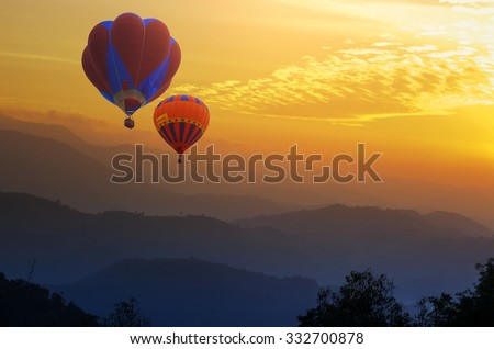 Doi Inthanon National park in the sunrise and main road at Chiang Mai Province, Thailand - Shutterstock ID 332700878