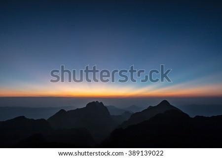 Doi Luang Chiang Dao, High mountain in Chiang Mai Thailand #389139022