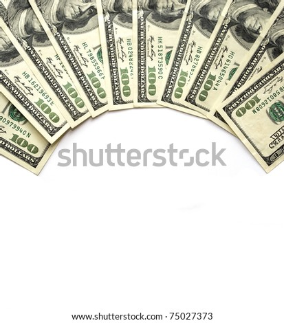 dolars - Shutterstock ID 75027373