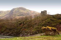 Dolbadarn Castle, Llanberis, North Wales.