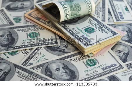 Dollar banks note money background