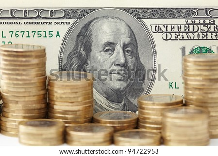 dollar denominations with fine coins