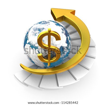 Dollar Growth Concept - stock photo