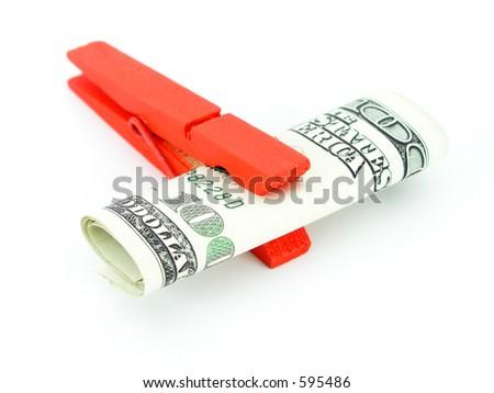 Dollar on a Clothesline
