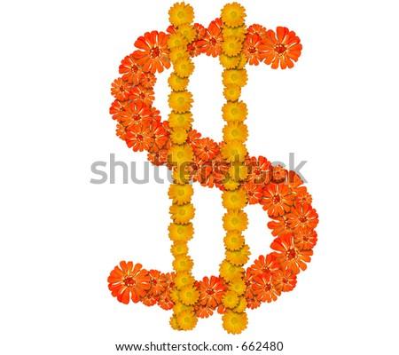 dollar sign, symbol