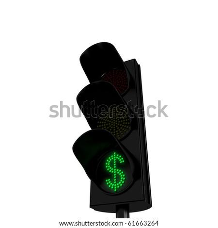 Dollars Green Light