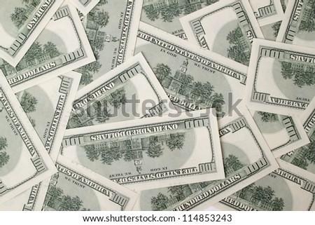 Dollars  textured background