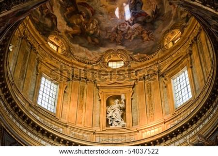 Dome in basilica, Rome