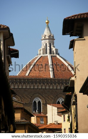 Dome of Basilica di Santa Maria del Fiore, Florence Cathedral, Florence, Italy