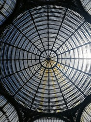 dome of Galleria Umberto Primo