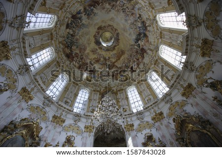 Dome of monastery in Germany