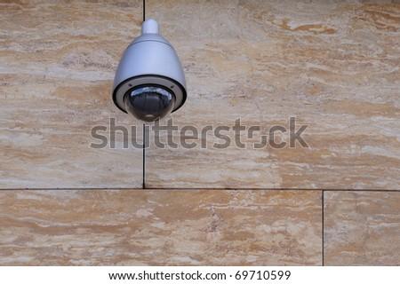 Dome type CCTV camera
