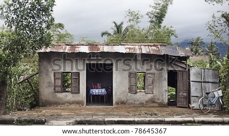 Domestic dwelling in the Vietnamese Countryside