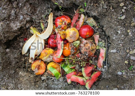 domestic waste for compost from ...