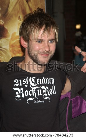 DOMINIC MONAGHAN at the USA premiere of his new movie The Lord of the Rings: The Return of the King, in Los Angeles. December 3, 2003  Paul Smith / Featureflash
