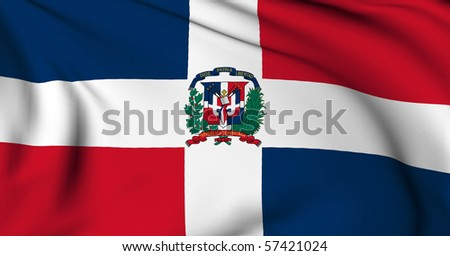Dominican Republic flag World flags Collection