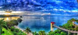 Dominican Republic Samana HDR picture