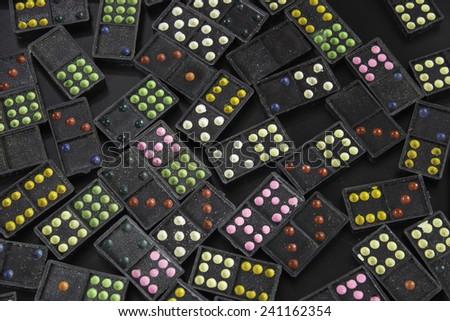Domino Colorful #241162354