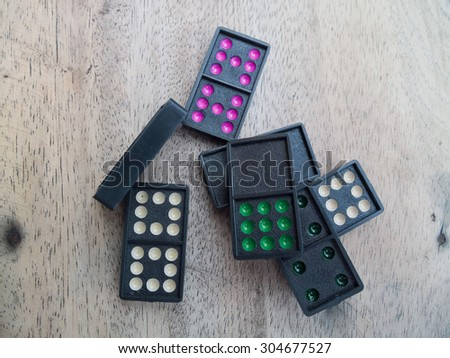 Domino game is for to relax play