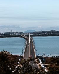 Dompak bridge in Tanjungpinang city.