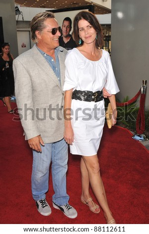 081243b11cd27 Don Johnson   wife Kelley Phleger at the world premiere of