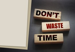 Don't waste time on wooden blocks. Personal career concept.