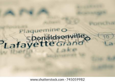 Donaldsonville, Louisiana, USA.