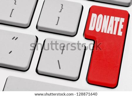Donate computer key