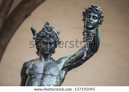 Donatello'S David Renaissance Statue In Florence Italy ...