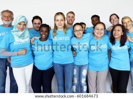 Donation Community Service Volunteer Support Stock fotó ©