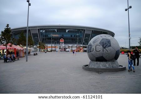 DONBASS-ARENA, DONETSK, UKRAINE - SEPT 5: Shakhtar Donetsk's new soccer stadium September 5, 2010 in Donetsk, Ukraine