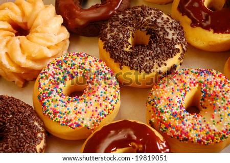 Donut assortment